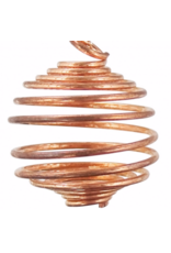 Copper Crystal Spiral Cage