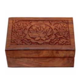 Wood Box - Lotus