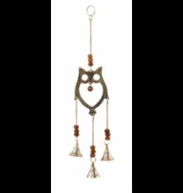 Owl Hanging Bells