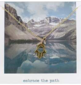 Snapshot Necklace - Hamsa