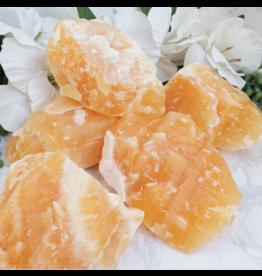 Orange Calcite - Medium