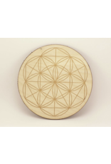 "11"" Baltic Birch - Crystal Grid"