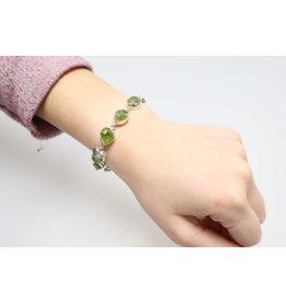 Green Amethyst/Prasiolite Bracelet
