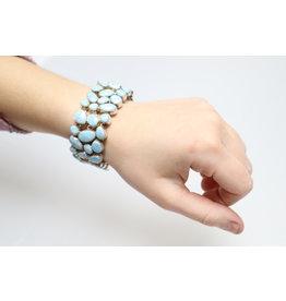 Larimar Bracelet #895