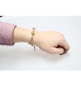 Golden Rutile Citrine Bracelet