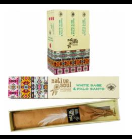 White Sage & Palo Incense