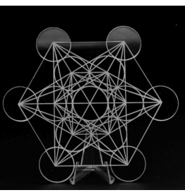 Acrylic Metatron Crystal Grid
