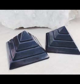 Shungite Sakara Pyramid - 10cm