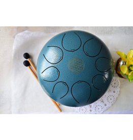 Tongue Drum (Teal) - 10 inch