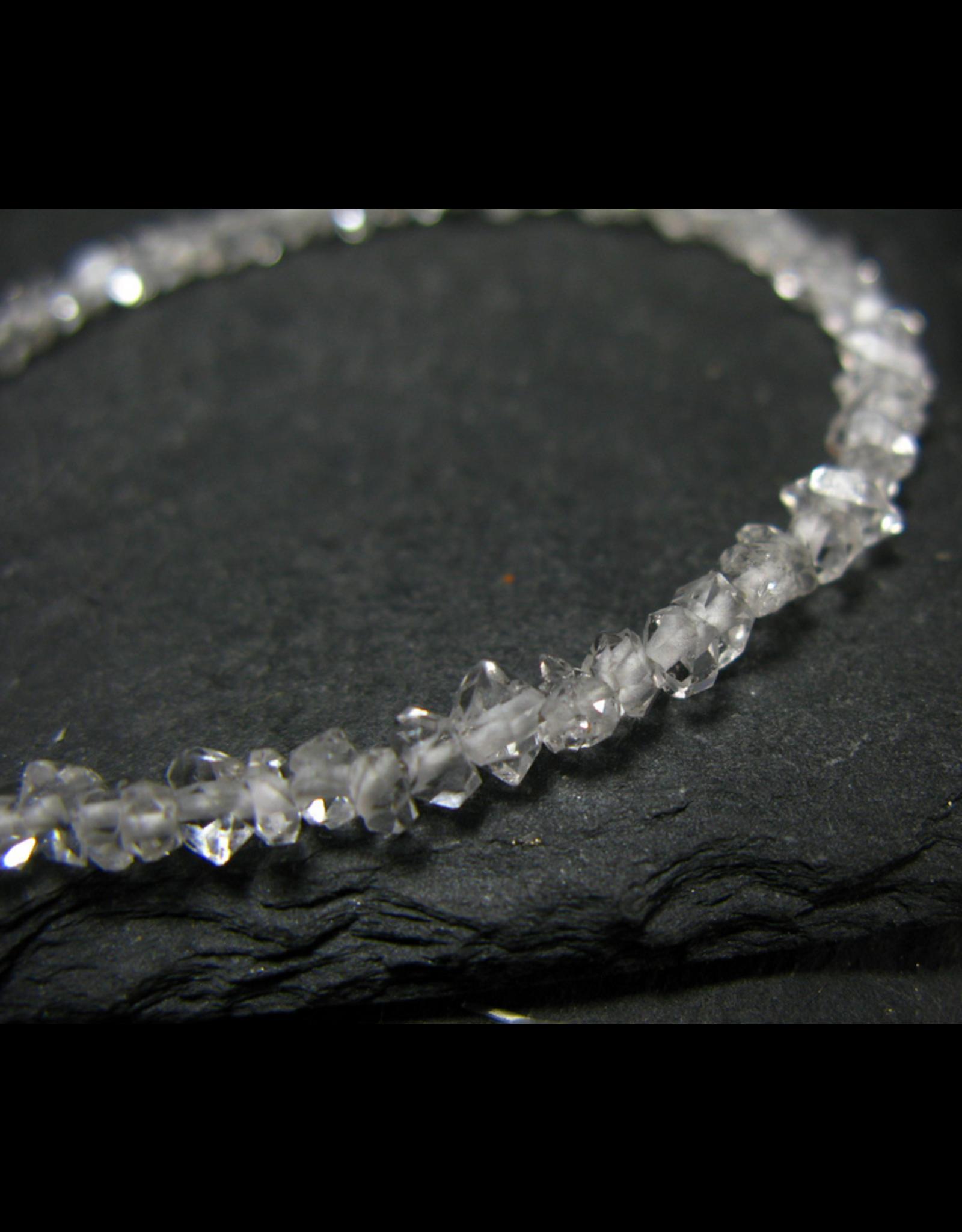 Herkimer Diamond Bracelet - 5mm