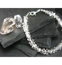 Herkimer Diamond Bracelet - 8mm