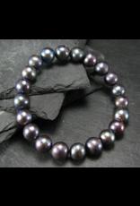 Freshwater Black Pearl Bracelet - 9mm