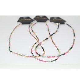 Rainbow Tourmaline Necklace