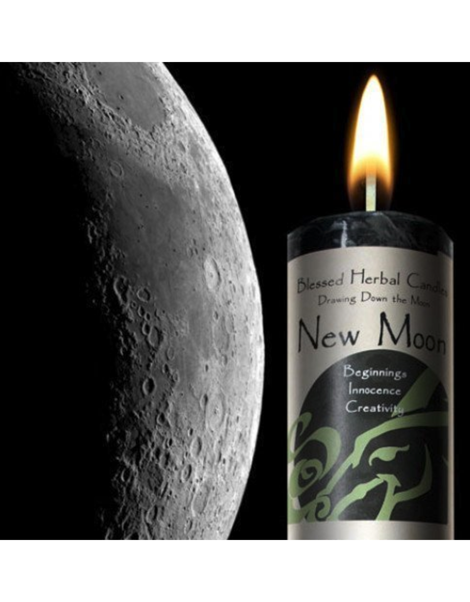 Drawing Down the Moon Candle