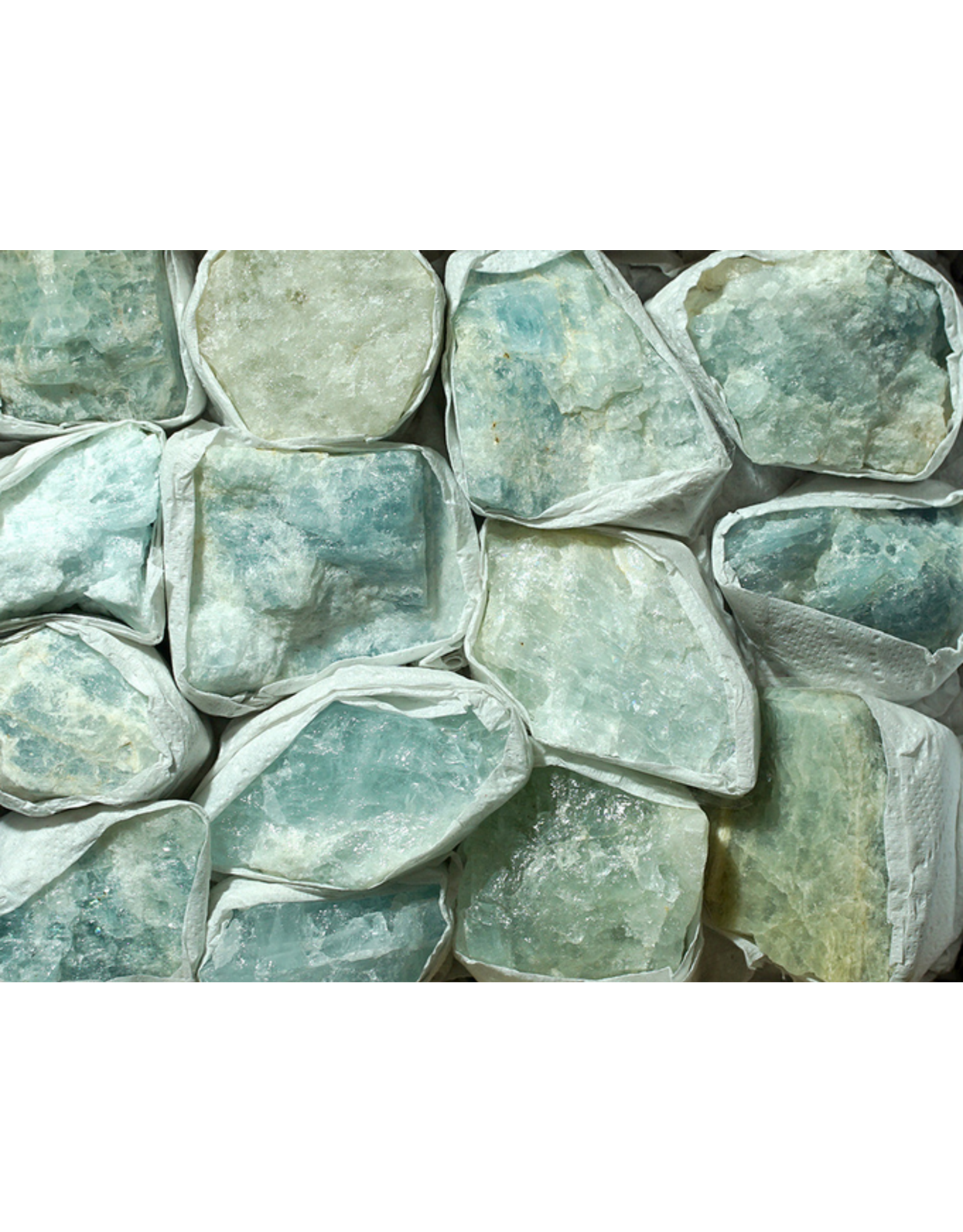 Large Aquamarine - Rough