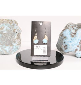 Larimar Earrings #1