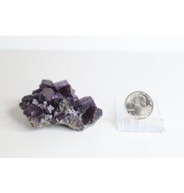 Dark Fluorite Specimen