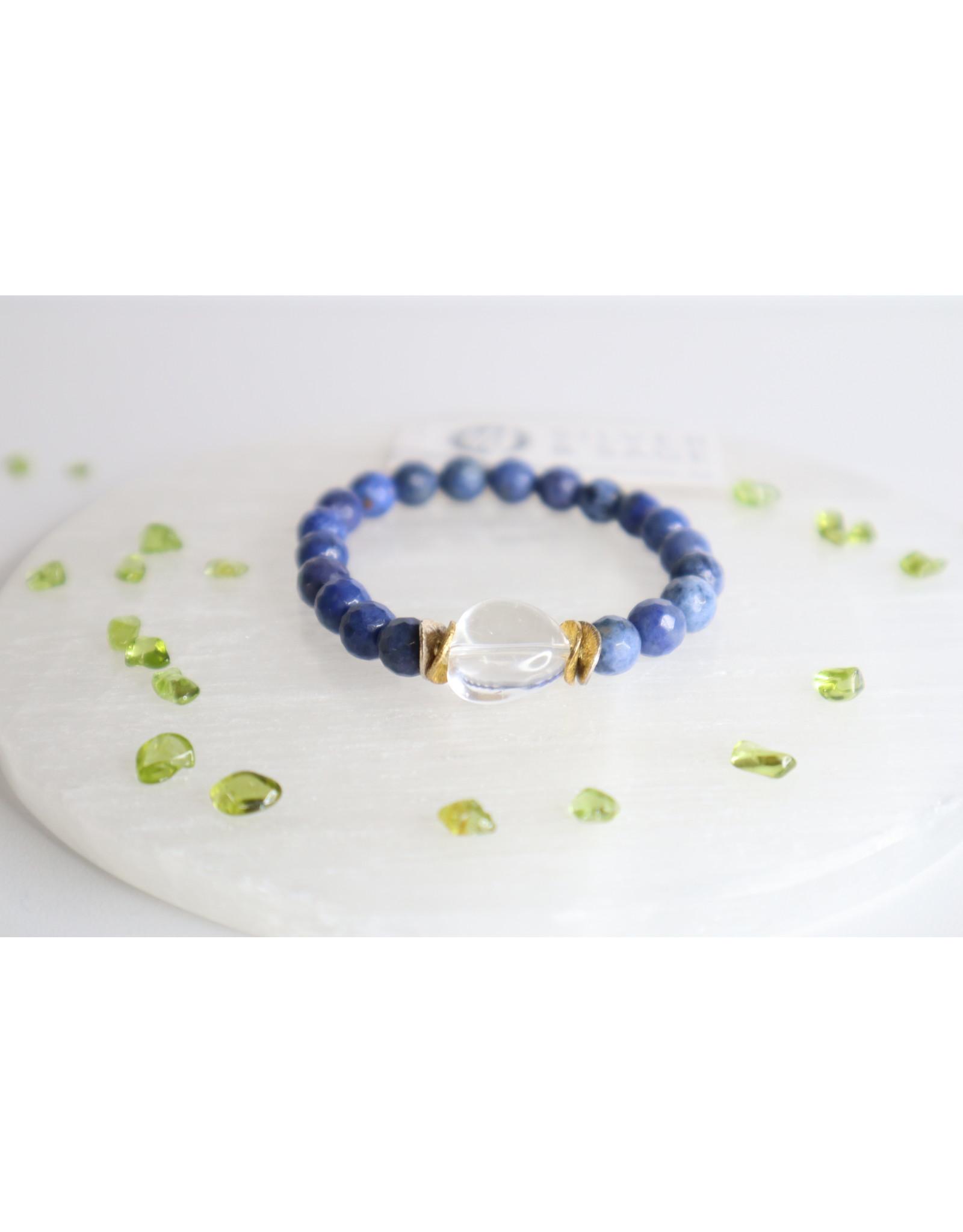 Silver & Sage - Clarity & Perseverance Bracelet