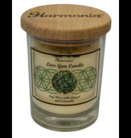 Harmonia Soy Gem Candle - Love Emerald