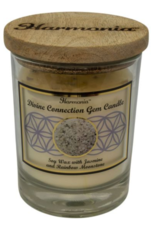 Harmonia Soy Gem Candle - Divine Connection Rainbow Moonstone