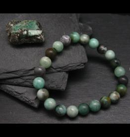 Emerald Bracelet - 8mm