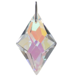 Prism Crystal 38mm Faceted Diamond