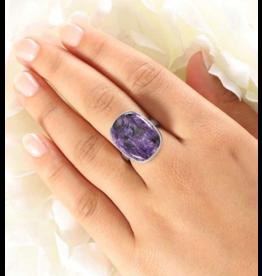 Charoite Ring #1 - Adj
