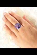Charoite Ring #2 - Adj