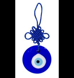 Evil Eye Talisman Blue Round