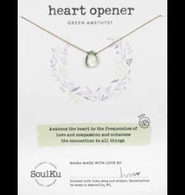 Green Amethyst Love - Heart Opener