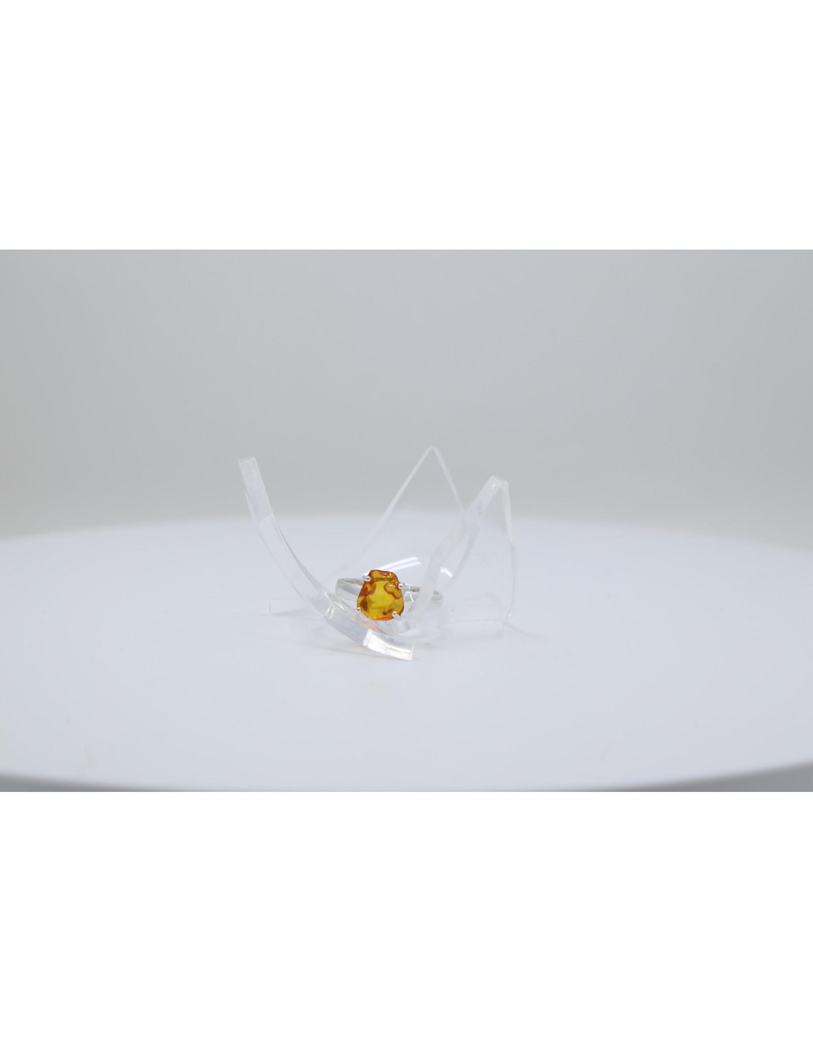 Bug Baltic Amber RIng - 6
