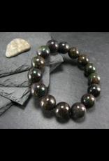 Black Opal Bracelet - 13mm
