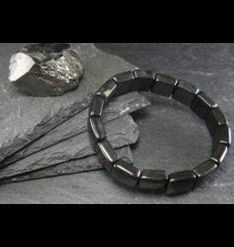 Shungite Bracelet - 12mm Square