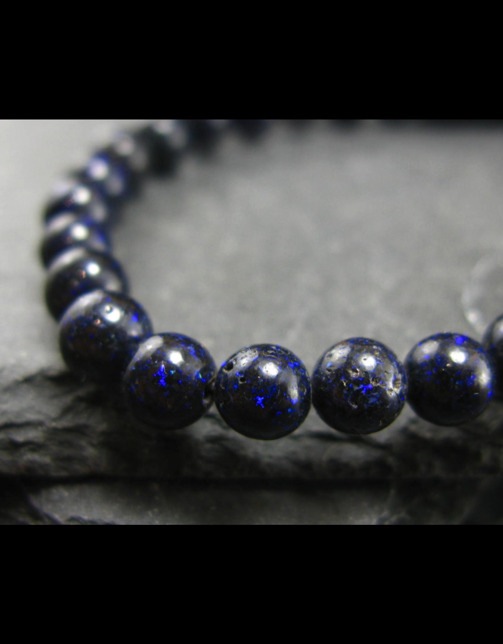Black Opal Bracelet - 5mm
