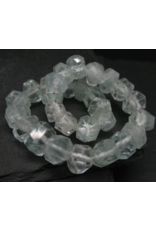 Faceted AAA Aquamarine Bracelet - 10mm