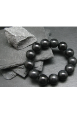 Black Azeztulite Bracelet - 16mm