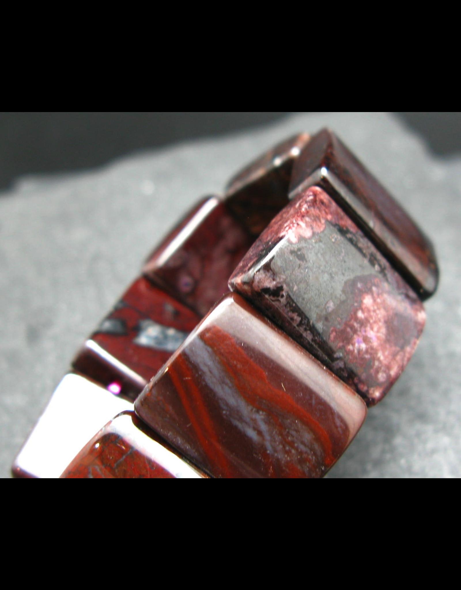 Bustamite Squared Bracelet-18mm