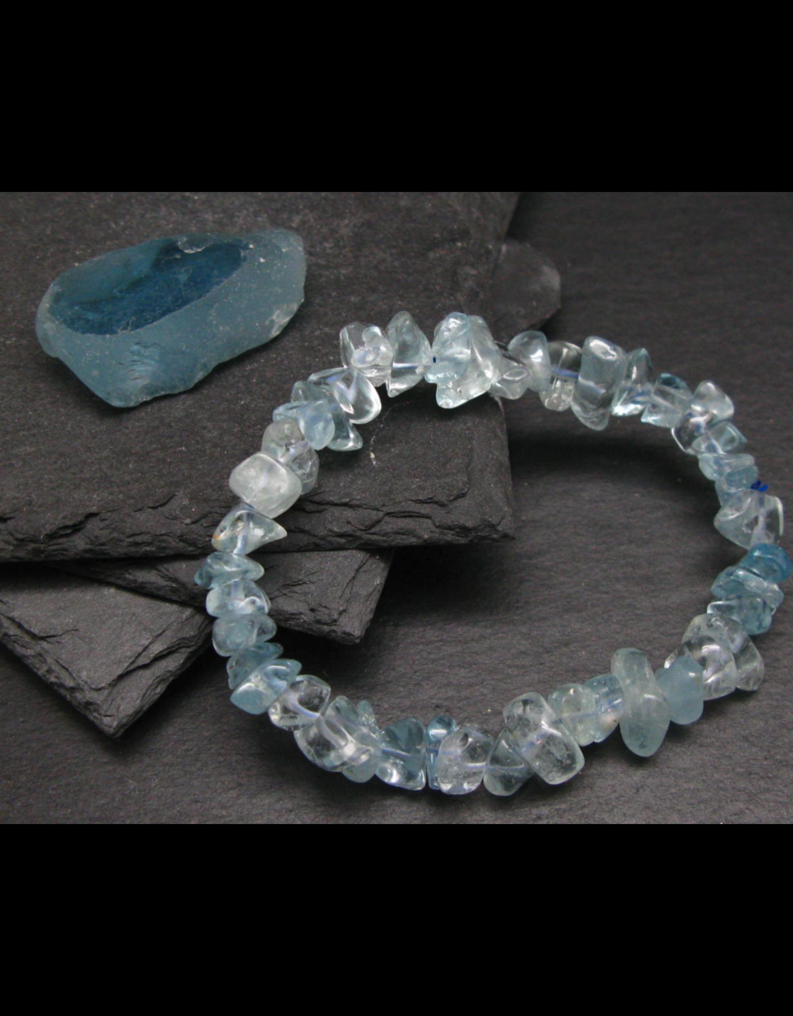 Blue Topaz Tumbled Bracelet - 12mm