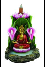 "Buddha Flower Backflow Burner 5.5"""