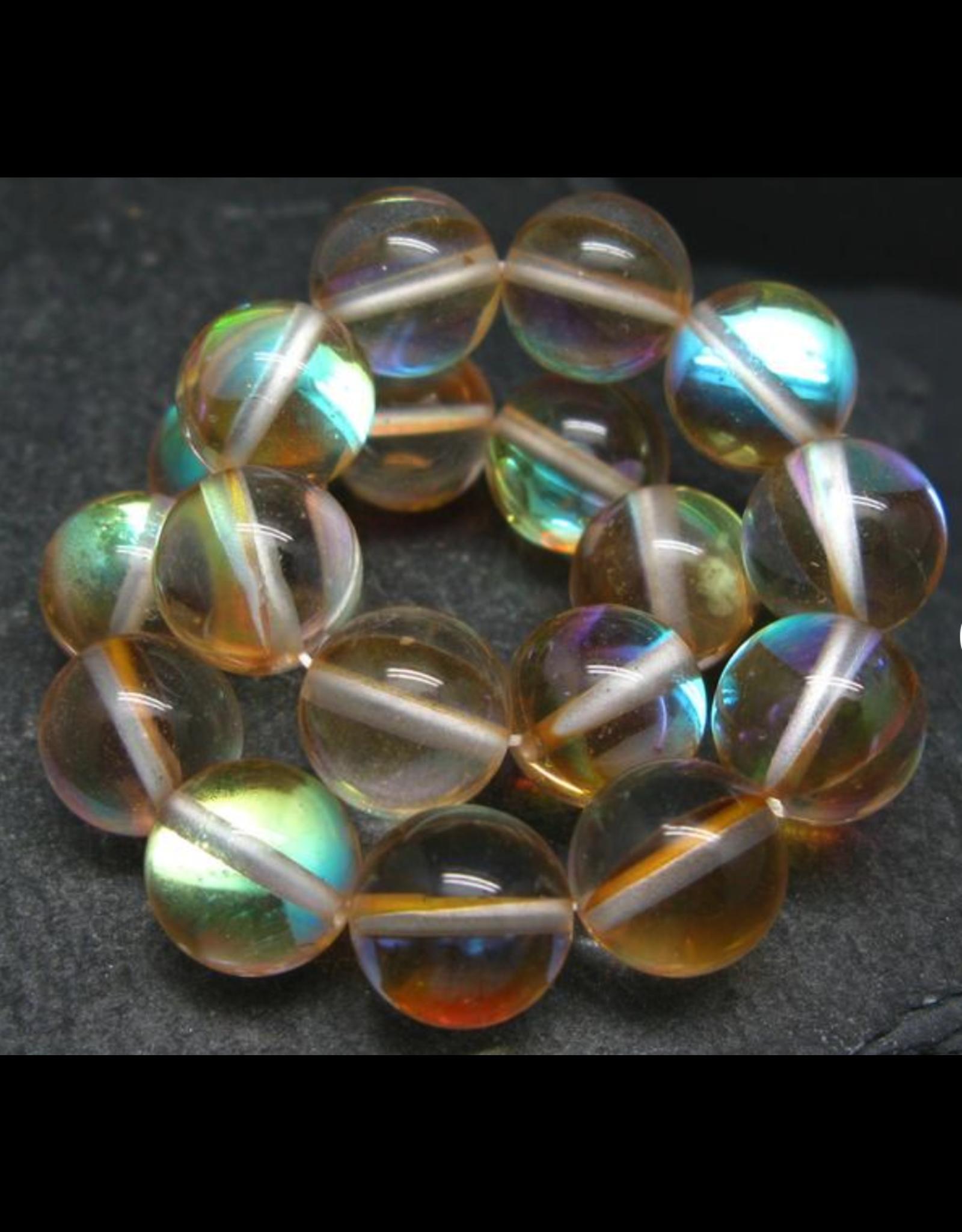 Gold Aura Quartz Bracelet - 10mm