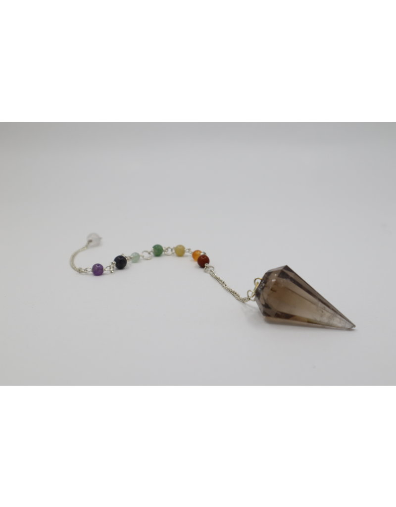 Chakra Pendulum - Smoky Quartz