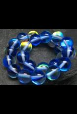 Aqua Aura Quartz Bracelet - 8mm