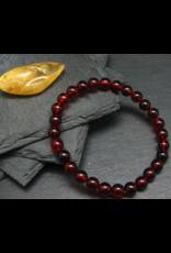 Red Baltic Amber Bracelet - 7mm