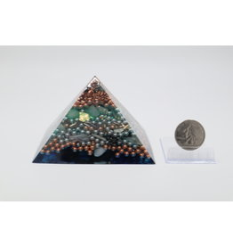 Orgonite Pyramid - Lotus - Medium
