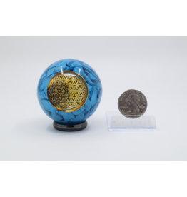 Orgonite Sphere - Seed of Life