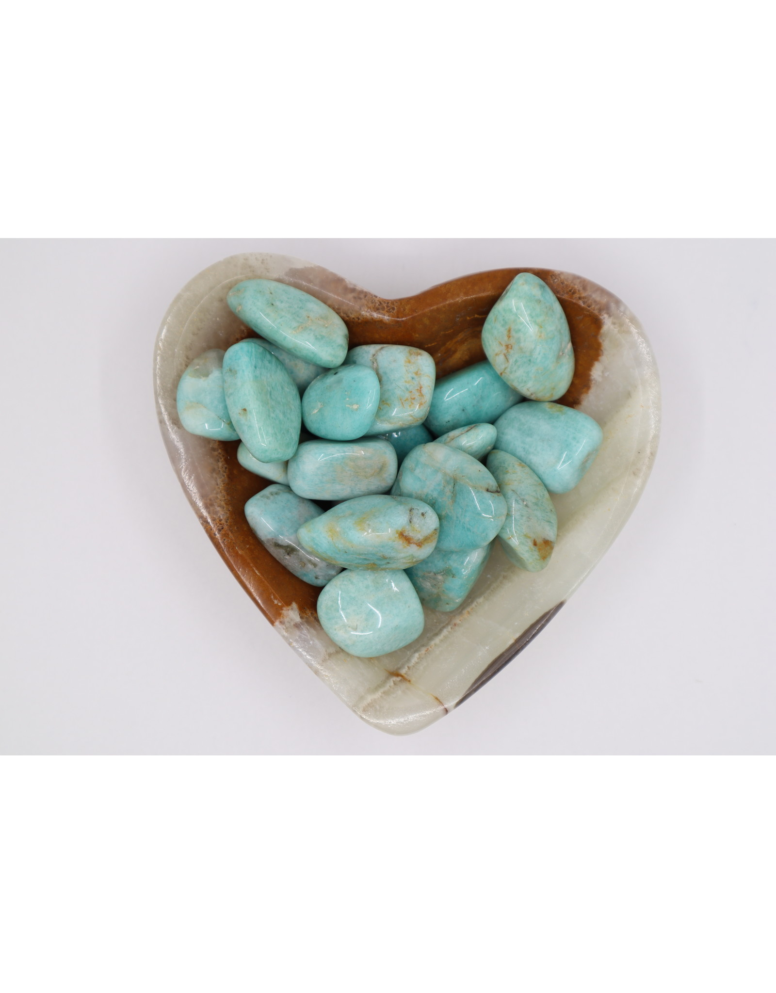 Fancy Amazonite Tumbled