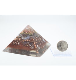 Red Jasper Pyramid - Made with Love