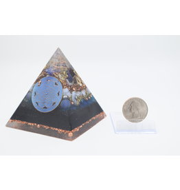 Blue Kyanite Pyramid - Made with Love