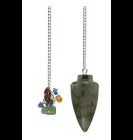 Pendulum Curved Labradorite