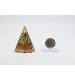 Orgone Gold Cone